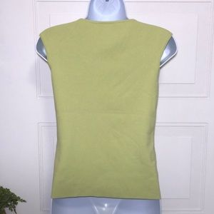 LOFT Tops - Ann Taylor LOFT Petites Light Green Top